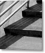 Linear In Four Four Time Metal Print