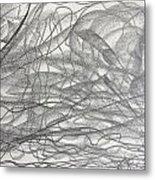 Linear Space Metal Print