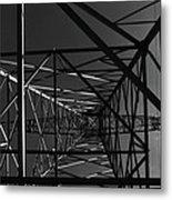 Lines And Angles Metal Print