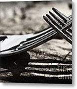 Lines And Shadows Metal Print