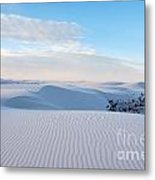 Lines In The Sand Metal Print