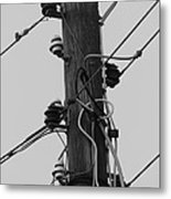 Lines Of Communication  Metal Print