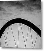 Lingotto Bridge Metal Print