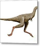 Linhenykus Dinosaur Metal Print
