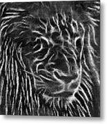 Lion - 2 Metal Print