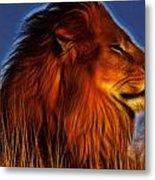 Lion - King Of Animals Metal Print