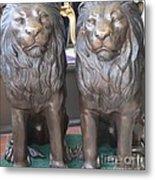 Lion Hearted Share Metal Print