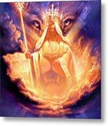 Lion Of Judah Metal Print by Jeff Haynie