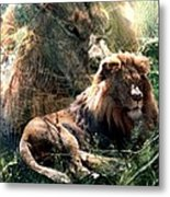Lion Spirit Metal Print
