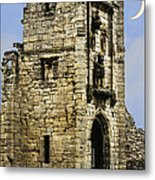 Lion Tower Metal Print