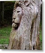 Lion Tree Metal Print