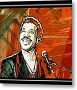 Lionel In Red Metal Print