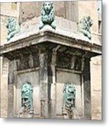 Lionfountain - Part Of The Obelisk - Arles Metal Print