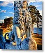 Lion's Bridge Metal Print