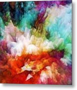 Liquid Colors - Original Metal Print