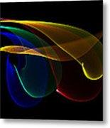 Liquid Colors Metal Print