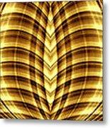 Liquid Gold 3 Metal Print