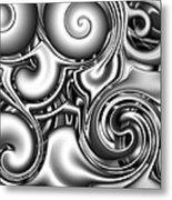 Liquid Metal Metal Print