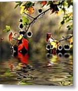 Liquidambar In Flood Metal Print