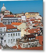Lisbon Alfama District Metal Print
