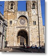 Lisbon Cathedral In Portugal Metal Print