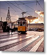 Lisbon Light Metal Print
