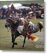 Litang Horse Festival - Kham Tibet Metal Print by Craig Lovell