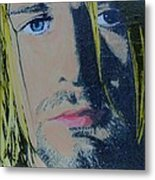 Literally Kurt Cobain Metal Print