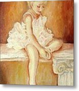 Little Ballerina Metal Print