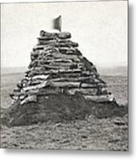 Little Bighorn Monument Metal Print by Granger