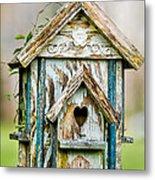 Little Birdhouse Metal Print
