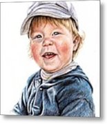 Little Boy Metal Print