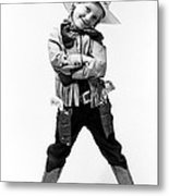 Little Buckaroo Metal Print