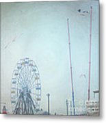 Little Carnival Town Metal Print by Sharon Coty