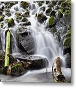 Little Cascade In Marlay Park Dublin Metal Print