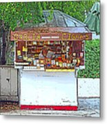 Little Cigar Shop Key West Metal Print