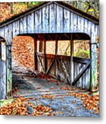 Little Covered Bridge II Metal Print