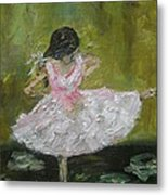 Little Dansarina Metal Print
