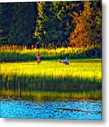 Little Dreamers Metal Print
