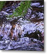 Little Falls Metal Print by Donald Torgerson