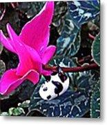 Little Glass Pandas 78 Metal Print