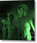 Aliens And Ufo 6 Metal Print