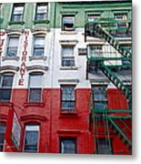 Little Italy Nyc Metal Print