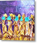 Little League Victory - Game End Metal Print