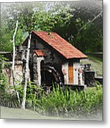 Little Mill Eastern State College - Faded Metal Print