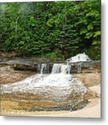 Little Miner Falls Metal Print