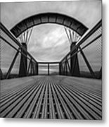 Little Mountain Sky Bridge Metal Print