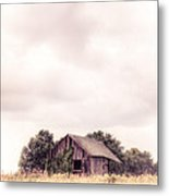 Little Old Barn In The Field - Ontario County New York State Metal Print
