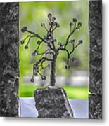 Little Pearl Tree II Metal Print
