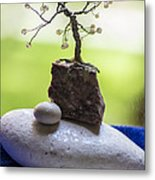 Little Pearl Tree Metal Print